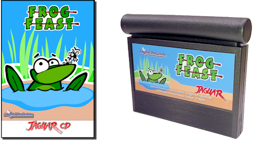 Frog Feast CD and cart